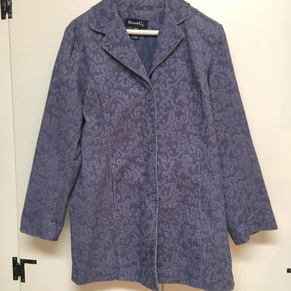 Denim&Co Jackets & Blazers - Corduroy Brocade Jacket from Denim&Co